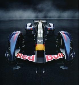 Gran Trusimo 5 Red Bull X-1 Prototype designed by Adrian Newey