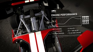 Forza Motorsport 4 GT40 Menu