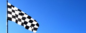 Chequered Flag by Tharrin on Flickr CC Licence
